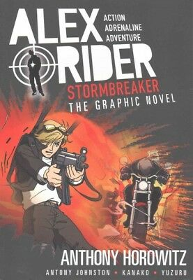 Stormbreaker Graphic Novel, Paperback by Horowitz, Anthony; Johnston, Antony;...