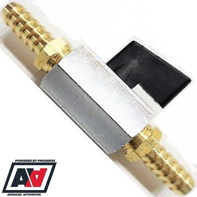INLINE FUEL FILTER Assembly - 8mm Tails With Stop Tap - £28 31