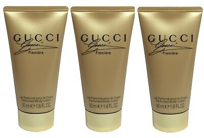 New Gucci Premiere Perfumed Body Lotion 50ml For Woman Lady Travel Size