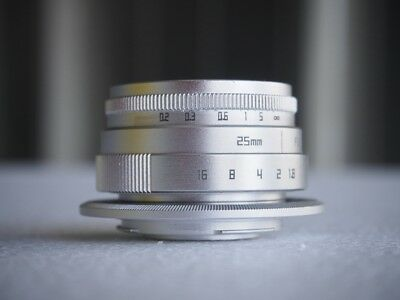 25mm f1.8 manual focus lens for micro four thirds (m4/3)