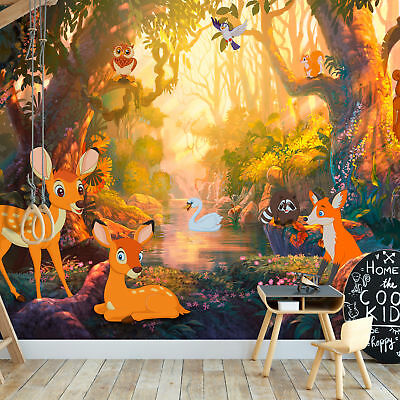 fototapete wald vlies tapete fantasy wandbild xxl wandtapete natur 10110903 30 eur 8 99. Black Bedroom Furniture Sets. Home Design Ideas
