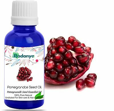 Pomegranate Seed Pure Natural Oil Undiluted Uncut essential Oils 3ML-1000ML