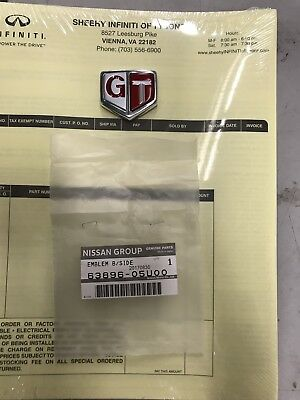 "JDM OEM Genuine NISSAN SKYLINE R32 GTR GT-R Fender ""GT"" Emblem Badge IN STOCK!"