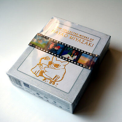 The Collected Works of Hayao Miyazaki Box Set Complete Blu-ray Brand New Sealed