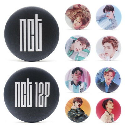 KPOP NCT NCT127 Brooch Pin Badge Button For Clothes Hat Backpack Decoration