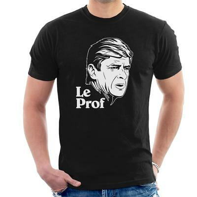Arsene Wenger T-Shirt The Godfather Spoof T-Shirt Arsenal Le Professeur Inspired