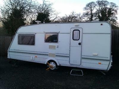 Swift Classic Doublette Touring Caravan - 4 Berth With  Extras - Motor Home