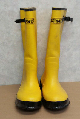Servus A380 Size 11 Yellow Rubber Boots