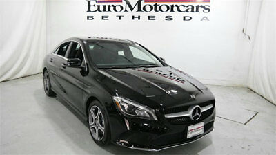 Mercedes-Benz CLA CLA 250 4MATIC Coupe mercedes benz cla250 cla 4matic awd black 15 16 used navigation blind spot coupe