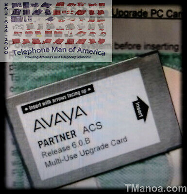 Avaya Partner ACS R6.0 Multi-Use Upgrade PC Card 700252455