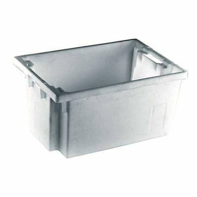 Solid Slide Stack/Nesting Container 600X400X300mm Grey 382968 [SBY24794]