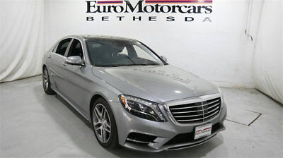 Mercedes-Benz S-Class 4dr Sedan S 550 4MATIC mercedes benz s550  s  550 4matic awd used 14 15 16 gray silver certified navi