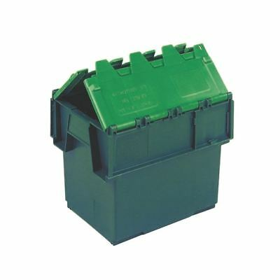 VFM Green 20 Litre Plastic Container With Lid 306578 [SBY04600]