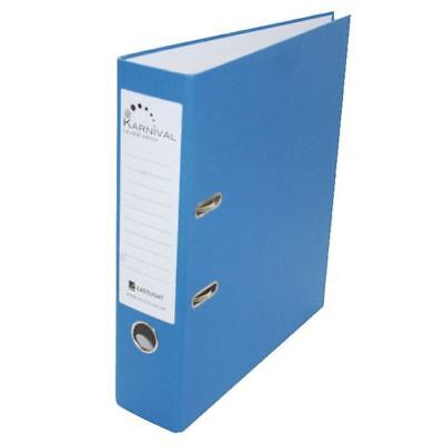 Rexel Karnival 70mm Blue A4 Lever Arch File (Pack of 10) 20743EAST [EA20743]