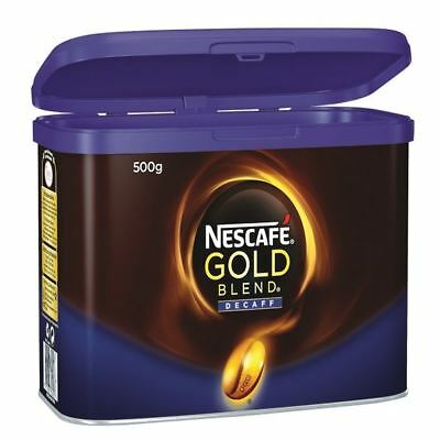 Nescafe Gold Blend Decaffeinated Instant Coffee 500g 12284222 [NL82330]
