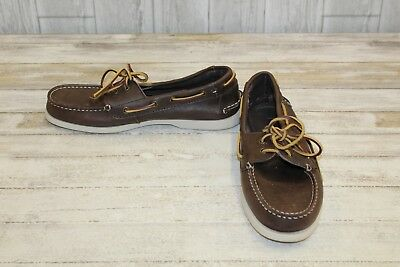 2a56fdfad9cafb TOMMY HILFIGER BOWMAN Leather Boat Shoes