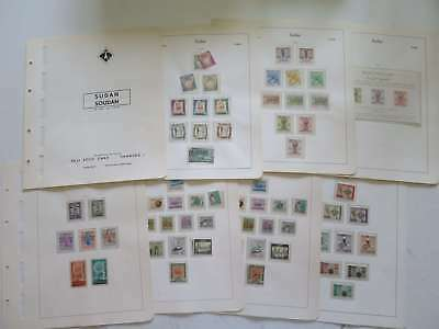 MIDDLE EAST 1956-65 NEAT COLLECTION** ON ALBUM SHEETS °/ca783