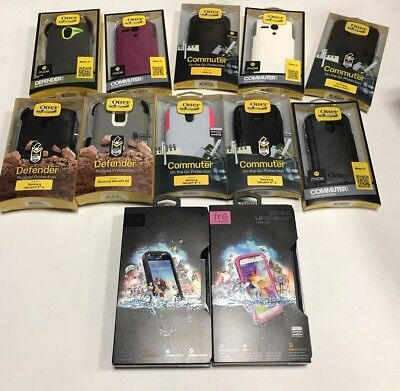 Bulk Wholesale Lot Of Over 30 Otterbox And Lifeproof Cases!