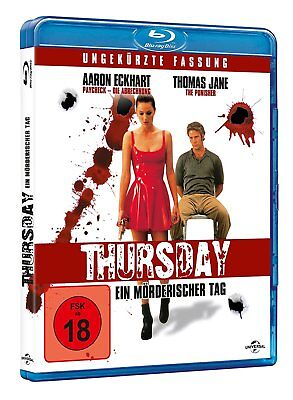 THURSDAY (1998) Aaron Eckhart Blu-Ray NEW Free Ship IMPORT - USA Compatible