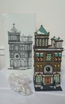 Dept 56 Christmas in the City The City Globe CIC
