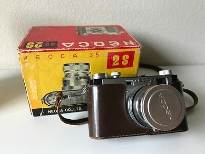 Neoca 2S 35mm Photo Camera Neokor 45mm 3.5 Lens - FILM TESTED WORKS!