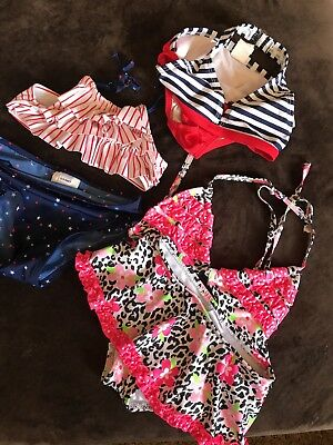 3 Toddler Swimsuits 2Size 4t And One Size 3t