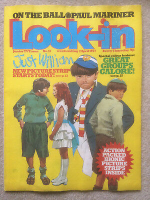 Look In Magazine 2 Apr 1977 #14 Just William & Various Groups