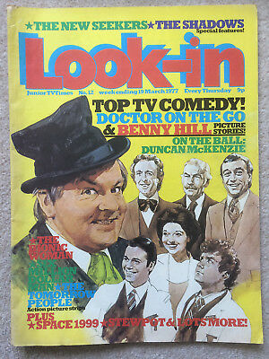 Look In Magazine 19 Mar 1977 #12 Top Tv Comedy & The New Seekers