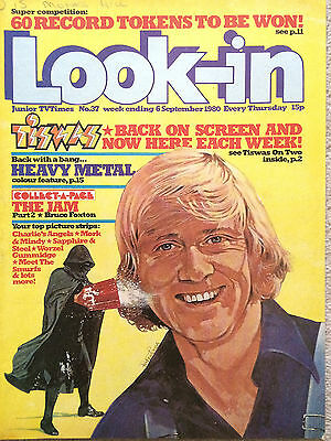 Look In Magazine 6 Sep 1980 #37 Tiswas