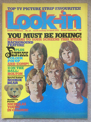 Look In Magazine 24 Apr 1976 #18 Flintlock & Nookie Bear