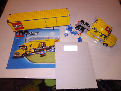 Lego City 3221 Lego Truck With Instructions 1349 Picclick Uk