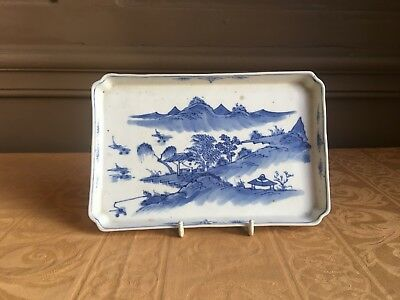 Fine early 18th century Kangxi Chinese porcelain tray
