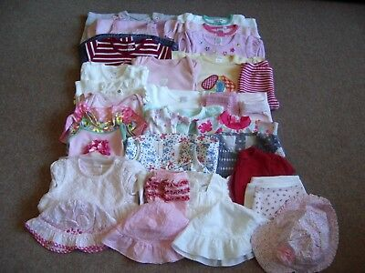 Baby Girl 3-6 Months Lovely Mixed Summer Clothes Bundle 28 Items