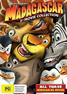 Madagascar The Complete Collection Box Set DVD Region 4 NEW