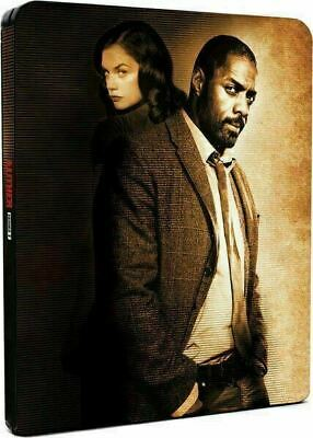 Luther: Series 1 - Limited Edition Steelbook [Blu-ray] New and Factory Sealed!!