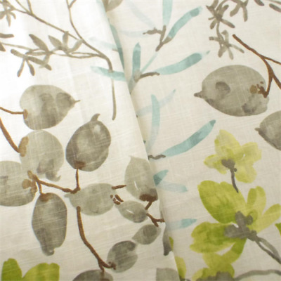 IVORY/MULTI BRAEMORE FLORAL Print Home Decorating Fabric, Fabric By ...