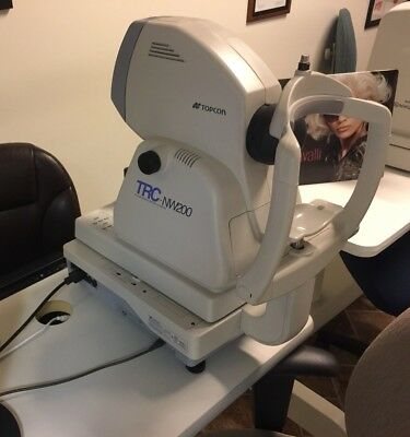 TOPCON TRC-NW200 NON-MYDRIATIC RETINAL CAMERA TRC-NW 200  For Parts Not Working