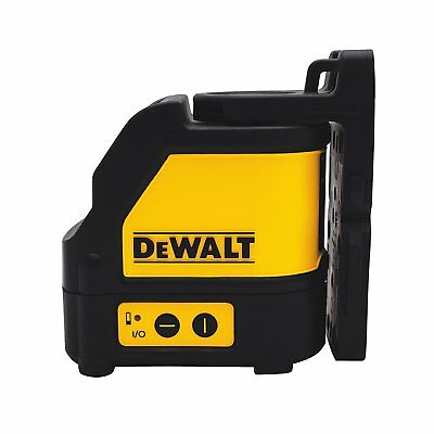 Dewalt DW088CG Self Levelling Green Cross Line Laser With Carrying Case