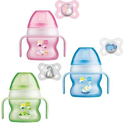 MAM Starter Cup 150ml with Handles and Soother