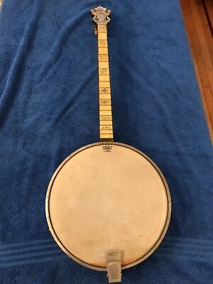 Vintage Antique Banjo Maybell Recording Master