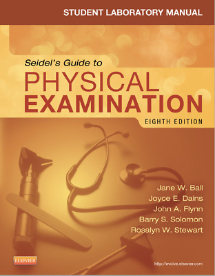 (EBOOK PDF) Student Laboratory Manual for Seidel's Guide to Physical Examination