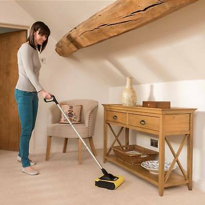Adjustable Electric Cordless Sweeper Fast Home Floor Carpet Vacuum Broom Cleaner