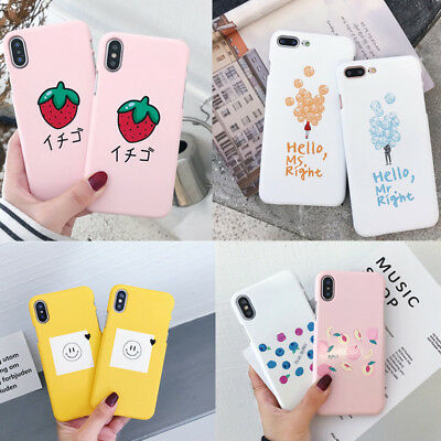 Shockproof Ultra thin Hard Back Pattern Case Cover For Apple iPhone 8 6 7 Plus X