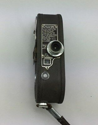 Keystone Vintage 8mm Movie Camera Model K 8 1930's