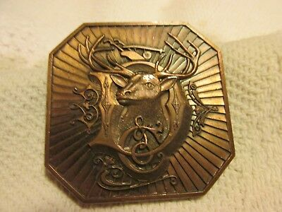 John Deere Belt Buckle 1987 Deere & Co.