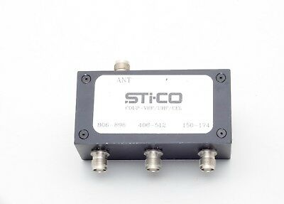 STI-CO Covert Antenna Coupler COUP-VHF/UHF/CEL 150-174 406-512 806-896 MHz