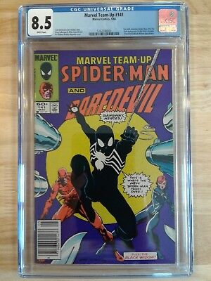 Marvel Team-Up #141 CGC 8.5 White Pages