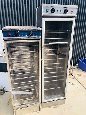 Bakery Proofer Oven 1.8m high 10-15amp plugs - used but working great