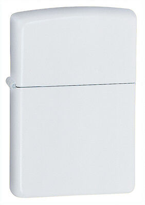 Zippo Windproof White Matte Lighter, 214, New In Box