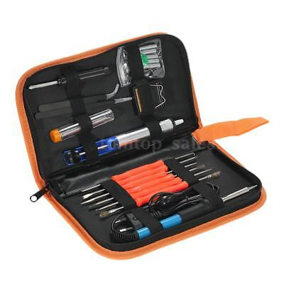 60W 110V/220V Electric Welding Soldering Iron Tool Kit with Temperature Control